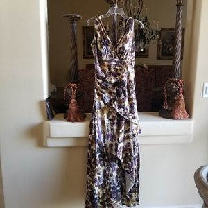 KAY UNGER SZ 4 SILK MOB SPECIAL OCCASION DRESS